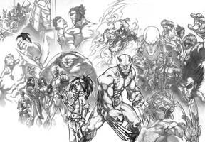Wolverine_pencils by thekidKaos
