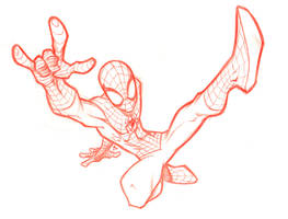 Sketchbook _ Spidey 3 by thekidKaos