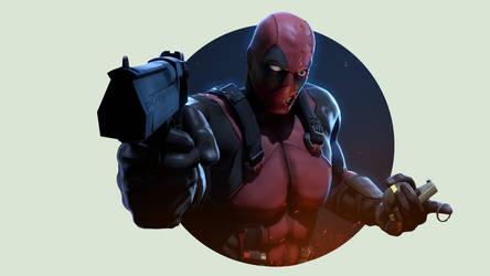 Deadpool by P0nyStark