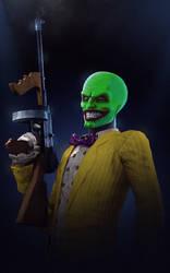 The Joker in the Mask of Loki by P0nyStark