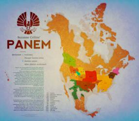 PANEM MAP by Vanja1995