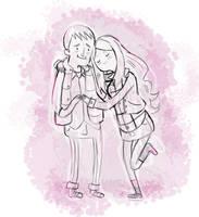 An Adventurous Couple by Malicious-Alice