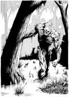 Swamp Thing by artofneff