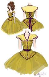 Maid of honor summer dress by BlackBirdInk