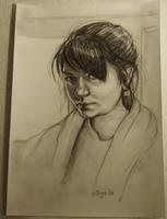 Self draw by BlackBirdInk