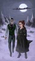Agnes And Vlad by BlackBirdInk