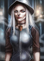 Discworld_Angua by BlackBirdInk