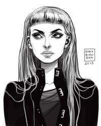 Emily Northkroe by BlackBirdInk