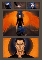 Oh. Angel indeed. by BlackBirdInk