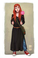 Ginny Weasley by BlackBirdInk