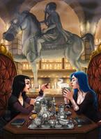 Poison Kitchen by BlackBirdInk