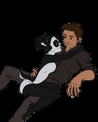 Couples Sketch__Jack and Linda by BlackBirdInk