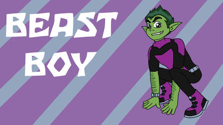 Beast Boy Desktop by Robyn-Kitty