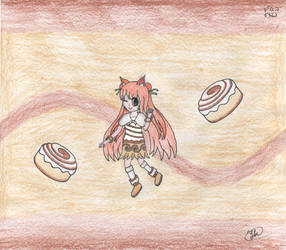 Kotori - Cinnabons by diskfire