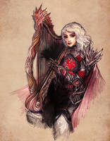 Rhaegar Targaryen by aegia