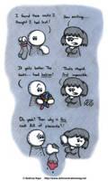 Love Among Socks by AK-Is-Harmless