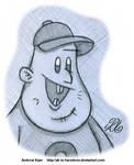 Gravity Falls - Soos by AK-Is-Harmless