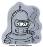 Futurama - Bender by AK-Is-Harmless