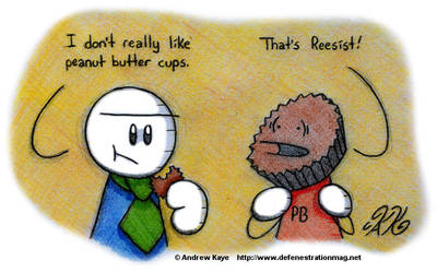 Many of My Friends Are Peanut Butter Cups by AK-Is-Harmless