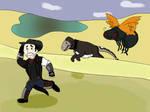 RUN!!! by GreyWarden3