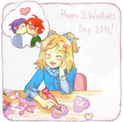 Offbeat Valentine by five-pm