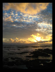 Costa Rican Sunset by maurice