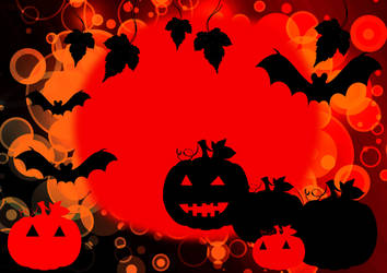 Halloween background by Dimatges