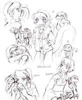 Girls -TMNT by DarkMirime