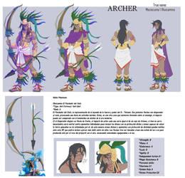 FGO - ARCHER Moctezuma by DarkMirime
