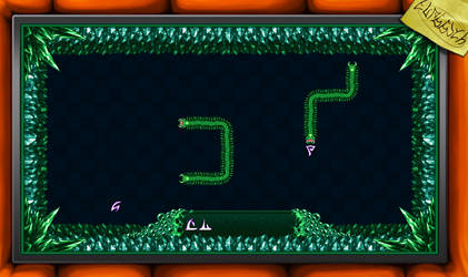 Hiveswap Serpents Minigame Pixel Art Redraw by Scarodactyl