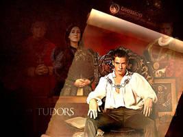 The Tudors Wallpaper by LaRhette0
