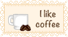Cup Of Coffee stamp by HalyWolf