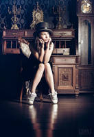 Crazy Funky Junky Hat by idaniphotography