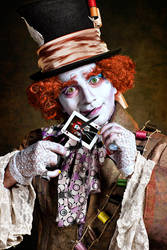 Me...As Mad As A Hatter by idaniphotography