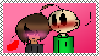 Baldi x The Principal of Things (stamp) by FlorCute2002