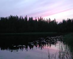 Late summer evening by zironjones