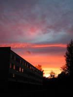 Evening skies part 1 by zironjones