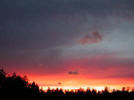 Evening skies part 2 by zironjones