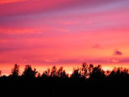 Evening skies part 3 by zironjones
