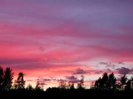 Evening skies part 4 by zironjones