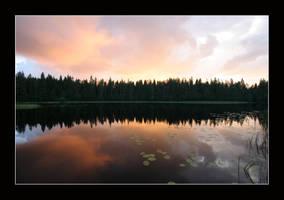 Summer Sunset by zironjones