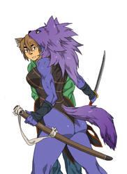 wolf by jiji-sam