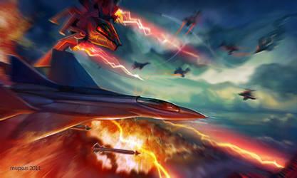 Battle scene by VeronikaD