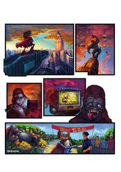 Comic strip Metropolia 2012 by VeronikaD