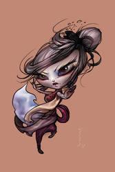 Cool chibi girl by VeronikaD