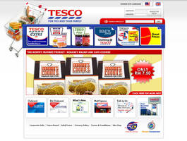 Tesco Redesign by obefiend
