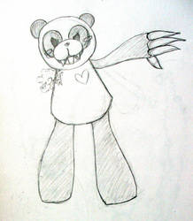 panda sketch by drewisgenki