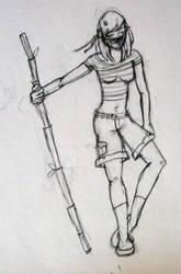 random sketch by drewisgenki