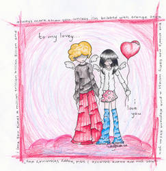 99 love balloons by drewisgenki