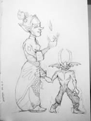 Imoryn Sketch by drewisgenki